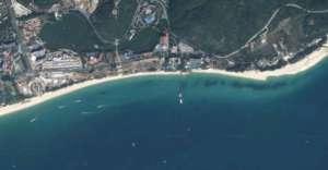 Południowe wybrzeże Hainan, gdzie według doniesień Pentagonu mają stacjonować łodzie podwodne, wyposażone w głowice nuklearne/google maps