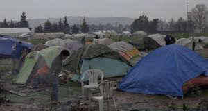 W dzikim obozie Idomeni 8 tys. zdesperowanych migrantów czekało na szansę przekroczenia granicy/youtube.com