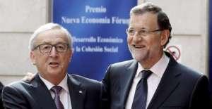 Jean Claude Juncker i Mariano Rajoy / twitter.com