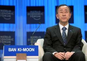 Ban Ki-moon, sekretarz generalny ONZ, już trzeci raz zmienił zdanie w sprawie zbrodni Arabii Saudyjskiej w Jemenie/ Copyright by World Economic Forum swiss-image.ch/Photo by Remy Steinegger