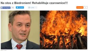 zrzut ekranu z Fronda.pl