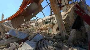 Ruiny szpitala MSF w Idlib, zniszczonego przez wojska Asada w lutym br./youtube.com