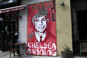 Mural, poświęcony Chelsea Manning/flickr.com/Timothy Krause