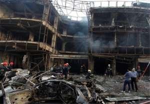 Centrum handlowe w Bagdadzie po wybuchu/http://www.tasnimnews.com/ar