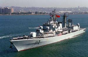 Haribing, jeden z chińskich niszczycieli / fot. Wikimedia Commons