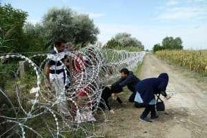 Granica węgierska, sierpień 2015/wikimedia commons