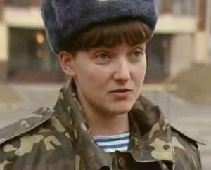 Nadia Sawczenko w mundurze ukraińskiej armii / wikipedia commons