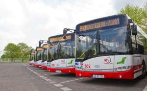 Kierowcy autobusów z Jastrzębia przeprowadzili akcję strajkową / jastrzębieonline.pl