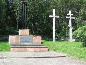 Cmentarz żołnierzy radzieckich, którzy zmarli w obozie jenieckim w Kielcach / fot. Wikimedia Commons