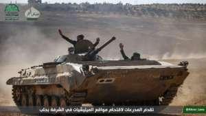 Ahrar asz-Szam pod Aleppo
