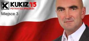 Plakat wyborczy Jerzego Janoski / fot. facebook.pl/jerzyjanoska