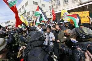 Protest Palestyńczyków / fot. Wikimedia Commons
