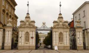 Brama Uniwersytetu Warszawskiego/wikimedia commons
