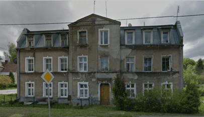 Budynek pod adresem Dolne Młyny 2 w Gdańsku. Zdj. Google Street View.