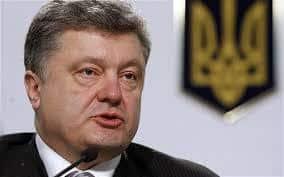 """""""Jesteśmy gotowi na wojnę totalną"""" - miał powiedzieć prezydent Ukrainy, Jednak się przeliczył."""