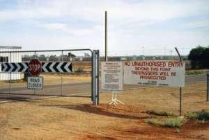 Obóz dla uchodźców Woomera (zamknięty w 2003 r.) / fot. Wikimedia Commons