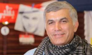 Nabil Radżab - uwięziony opozycjonista z Bahrajnu /amnesty.org.uk