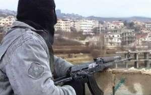 Syryjski bojownik opozycyjny / fot. Flickr.com/FreedomHouse