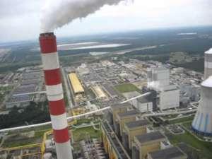 Elektrownia w Bełchatowie, widok z komina / youtube.com