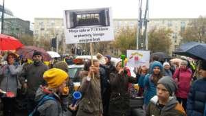 Protest nauczycieli w Warszawie, fot JS