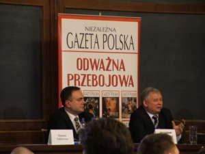 Tomasz Sakiewicz i Jarosław Kaczyński / wikipedia commons