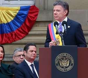 """Prezydent Kolumbii - """"gołąbek pokoju"""", fot. wikimedia commons"""