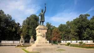 Stefan Wielki - niekwestionowany główny bohater mołdawskiej narracji historycznej / fot. Agatha Rosenberg