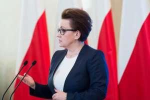 Ana Zalewska, minister edukacji narodowej/facebook.com