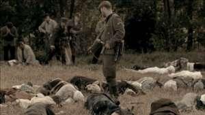 kadr z filmu Wołyń