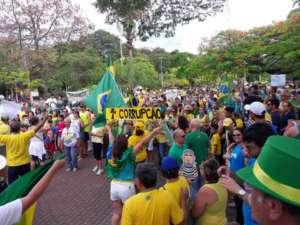 Manifestanci z Vem Pra Rua / fot. Facebook/VemPraRuaBrasil.org