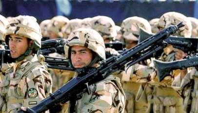 Żołnierze Korpusu Strażników Rewolucji Islamskiej; źródło: Pintrest.