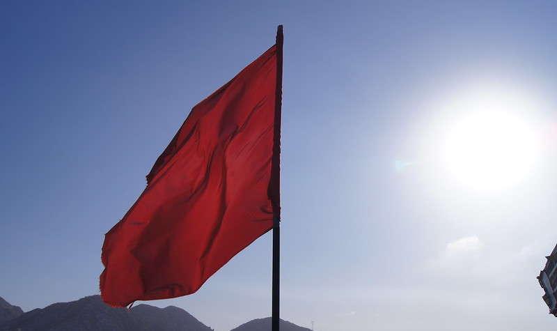 czerwony sztandar