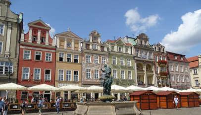 Poznań Rynek Starego Miasta