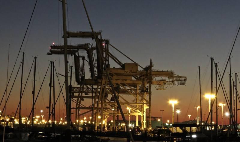 Port w Oakland