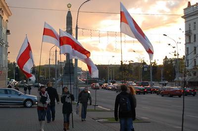 Białoruś protesty