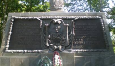 cmentarz wojskowy pod Lenino