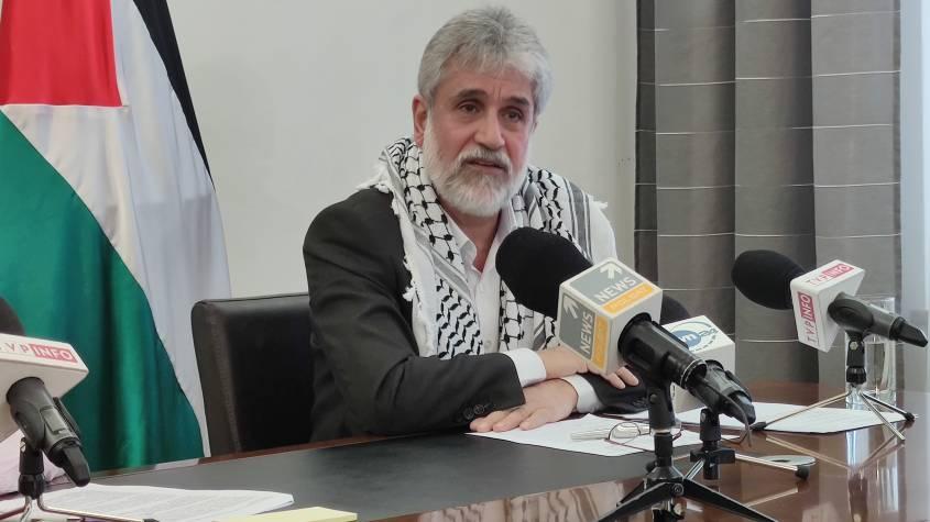 Mahmoud Khalifa ambasador Palestyny