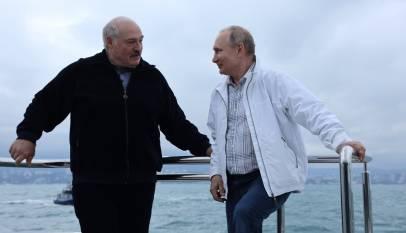 Putin i Łukaszenko