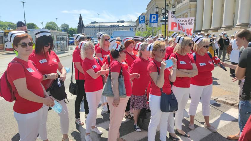 protest pielęgniarek