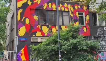 Mural Dąbrowszczacy