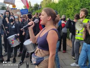 Protest Straż Graniczna