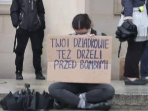 protest przez UM Wrocław 2